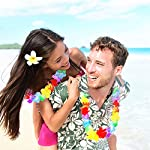 Alimitopia-24pcs-Hawaii-Hula-Leis-Dance-Garland-Artificial-Flowers-Neck-Loop-Luau-Party-CostumesMulticolor