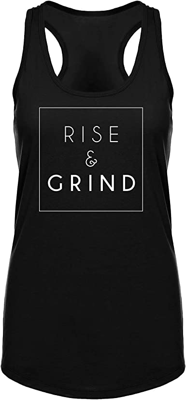 Women/'s Racerback Tank Top Inspirational Quotes Every Day Is A Fresh Start