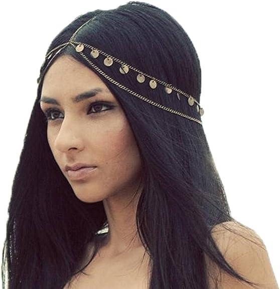 YiyiLai Kids Girls Sequins Bowknot Glitter Headband Party Hairband