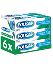 Poligrip Flavour Free Fixative Cream, 70 g, Pack of 6