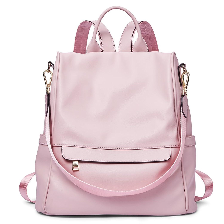 Womens Backpacks Purse Fashion PU Leather Anti-theft Large Travel ... b052dfb9e245