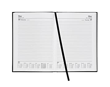 5 Star Office 941149 A5 2019 - Agenda diaria, color negro ...