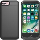 AVIDET iPhone 7 Plus ケース 充電器 バッテリーケース 4000mAh iPhone 6s Plus / iPhone 6 Plus 急速充電 モバイルバッテリー内蔵ケース (ブラック)