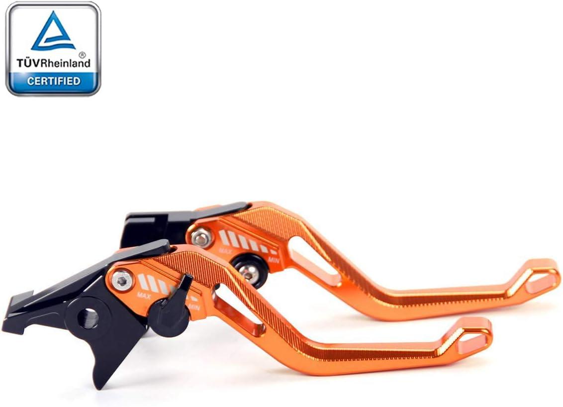 2012-2013 Bremshebel Orange Duke 640 T/ÜV- Brems Kupplungshebel f/ür KTM 640 LC4 Supermoto 1996-2006 2003-2006 Duke 690 // SMCR