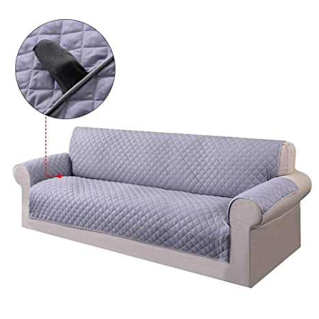Amazon.com : Wendysy Thickening Sofa Cover Reversible Covers ...