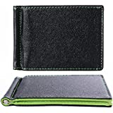 XCSOURCE® Green Creative Design Leather Wallet Removable Flip Up Money Clip Credit/ID Card Holder Purse for Men and Women MT195