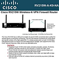 Cisco, Small Business Rv215w Wireless Router 4-Port Switch 802.11B/G/N Product Category: Networking/Wireless Bridges & Routers