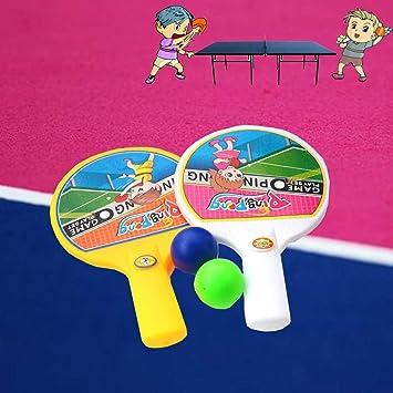YOYOGO ❀Juguetes para Bebés Mini Raqueta De Tenis De Mesa ...