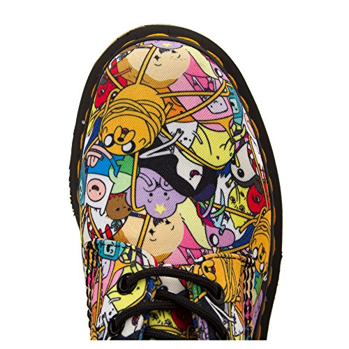Botas Dr Martens X Adventure Time Toon Castel (Multicolor) White