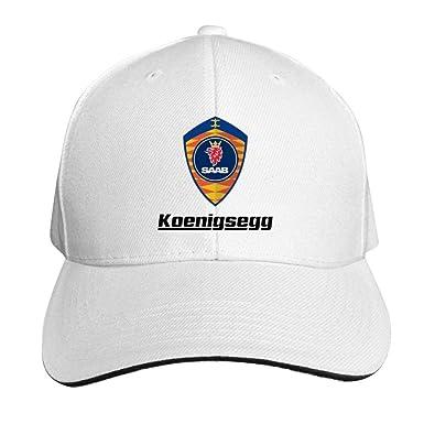 d94908d35cd24 Image Unavailable. Image not available for. Color  Wegbgi Koenigsegg Logo  Car Emblem Unisex Peaked Baseball Cap Adjustable Cotton Sandwich Hat
