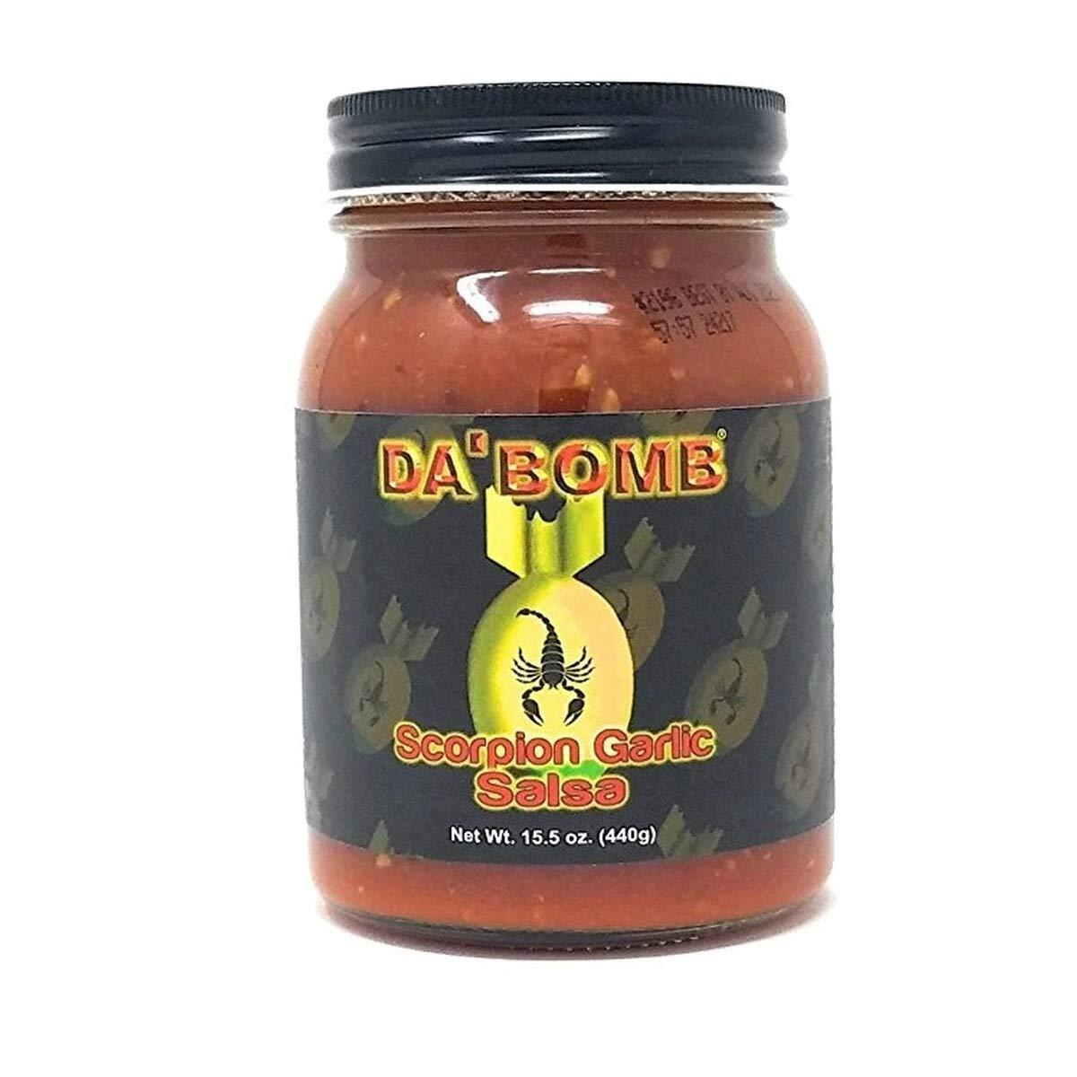 Da Bomb Scorpion Garlic Salsa - 15.5oz by Da Bomb