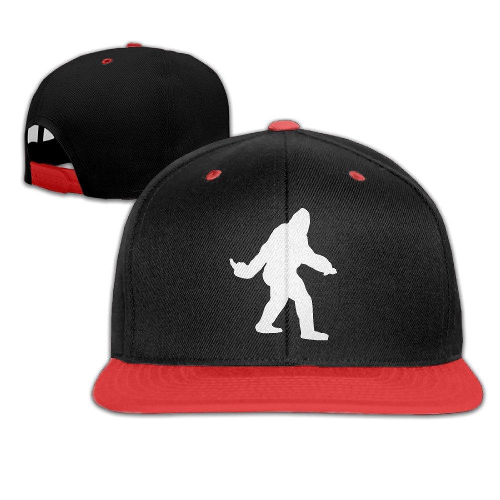 Kids Washington Bigfoot Falt Hat Hip Hop Baseball Cap B01LETR61G