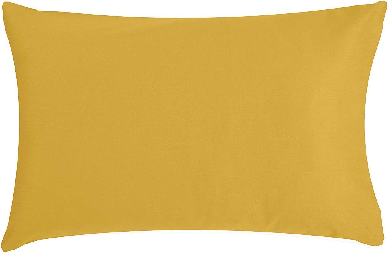 Funda Almohada Beb/é 57 Hilo // cm2 Tejido Ajustado para Plus desde Suave Algod/ón Org/ánico desde Calidad Superior PTit Basile Varios Colores Disponibles Dimensiones 40x60 cm