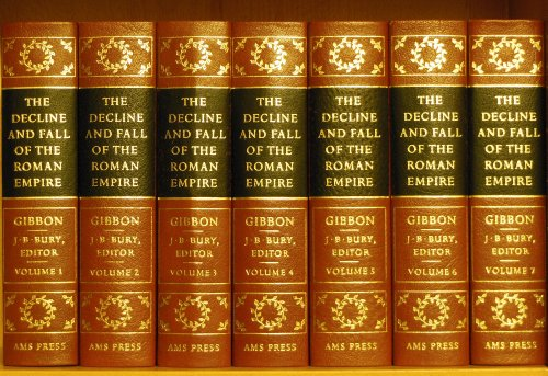 The History of the Decline and Fall of the Roman Empire (7 volumes)