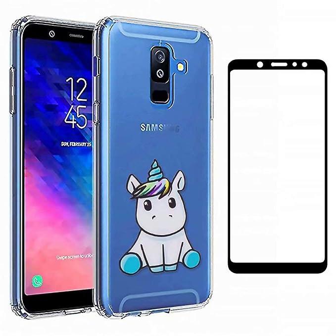 12 opinioni per Qsdd Sostituzione per Samsung Galaxy A6 2018 Ultra Sottile TPU Morbido Custodia