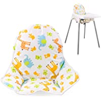 Twoworld High Chair Cushion for IKEA Antilop Highchair, Baby High Chair Seat Cover Liner Mat Pad Cushion for IKEA…