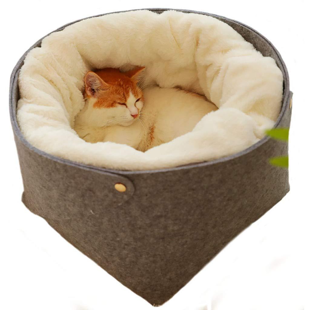 282823cm OrderSoil Pet Kitten Dog Sleeping Nest Teddy Small Dog Kennel Deep Sleep Cat Litter