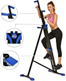 Hurbo Vertical Climber Home Gym Exercise Folding Climbing Machine Exercise Bike for Home Body Trainer Stepper Cardio…