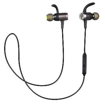 Auriculares Bluetooth Magnético, Parasom A10 Auriculares Bluetooth 4.1 Cascos inálambrico Deportivos, Sport Headphone para