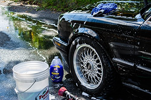 Turtle Wax T 472R ICE Car Wash And Microfiber Cloths Bundle