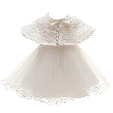 Amazon.com: Meiqiduo Baby Princess Girls Christening Baptism Gowns ...