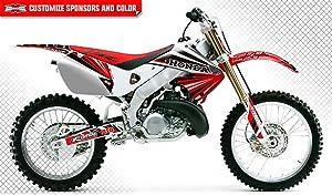 Amazon com: Honda CR125 1998-1999 & CR250 1997-1999 MX Dirt