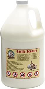 Just Scentsational GCS-128 All Natural Liquid Garlic Concentrate Pest & Insect Repellent, 128 oz (1 Gallon)