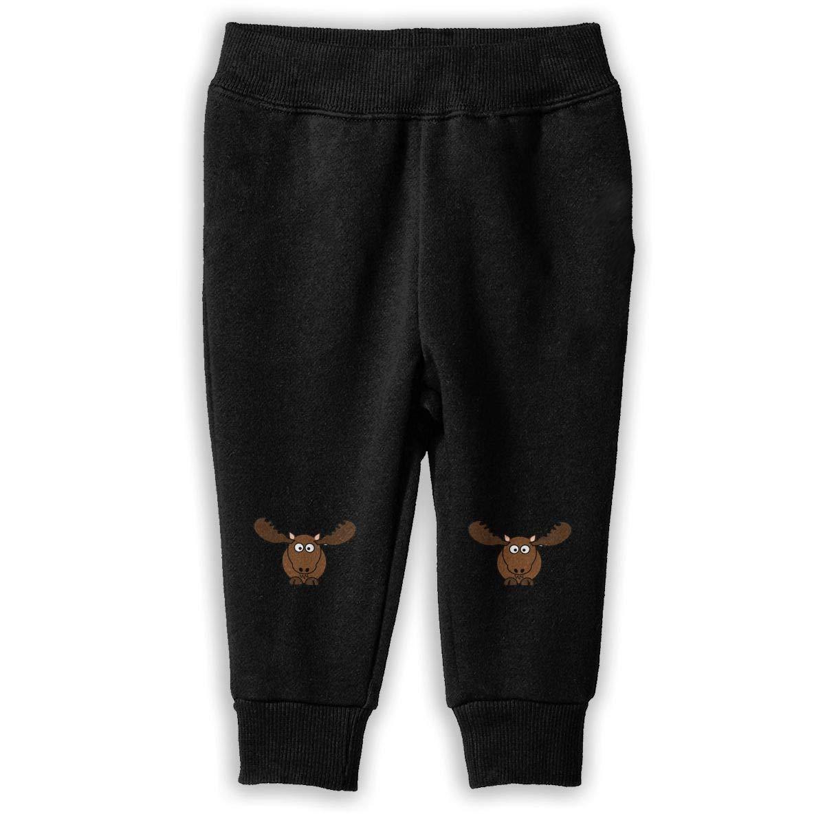 Moose Boys Sweatpants Classic Jogger Pants Active Pants Cotton Pants 2-6T