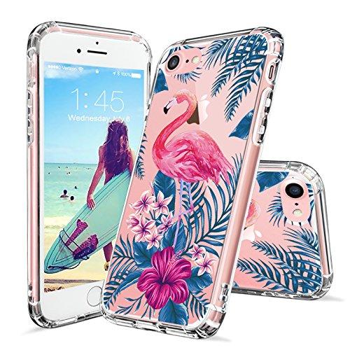 MOSNOVO Tropical Flamingo Transparent Protective