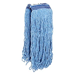 Rubbermaid Commercial Products FGE23800BL00 Universal Headband Blue Blend Mop, 24 oz (Pack of 12)