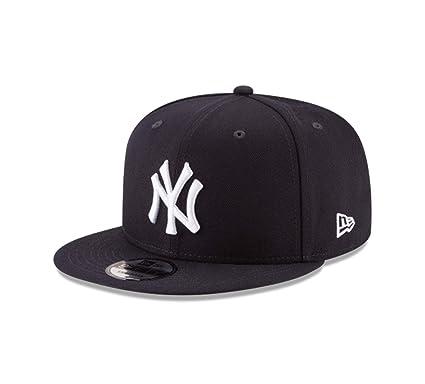 81a95291876 New Era MLB York Yankees Original Snapback 9Fifty Cap-Navy-OSFA   Amazon.co.uk  Clothing