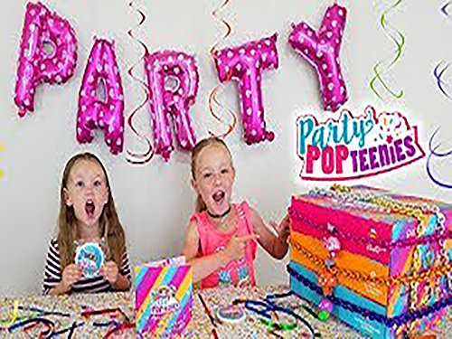 Party Pop Teenies Toy Scavenger Hunt For Lock Stars To Unlock What's In The Box!