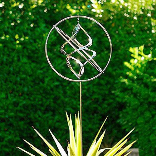 G/ärtner P/ötschke Windspiel Wind Dancer aus Edelstahl