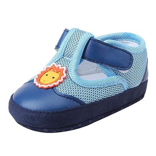Zapatos de Lona para Unisex Bebé Niños Niñas Otoño Invierno PAOLIAN Calzado de Primeros Pasos Suela Blanda Antideslizante Bautizo Zapatillas Rejilla Regalo ...