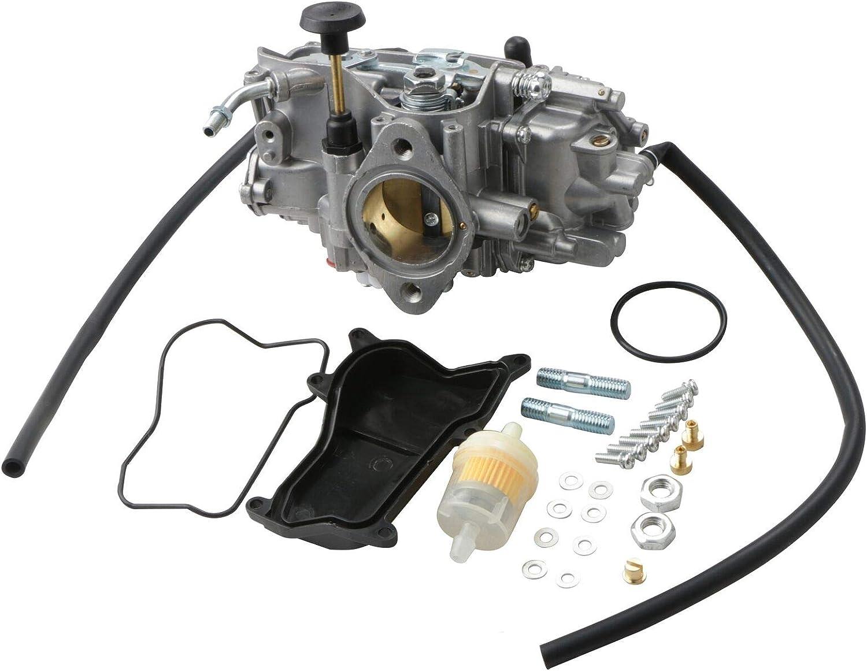 MOSTPLUS Carburetor Carb for ATV Yamaha Warrior 350 1987-2004//1987-1998 Big Bear 350 YFM350//1987-1990 /& 1992-1995 Moto-4 350 YFM350