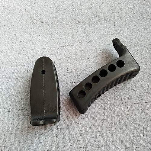 Noir Mosin Nagant Fusil Stock Recoil Caoutchouc buttpad M44 M38 Butt Pad 91//30 Type de 53 Couleur : 11CM Lixia-Gun