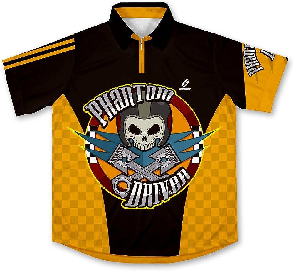 ScudoPro Phantom Driver Pit Crew Racing Camiseta de Mecánico: Amazon.es: Ropa y accesorios