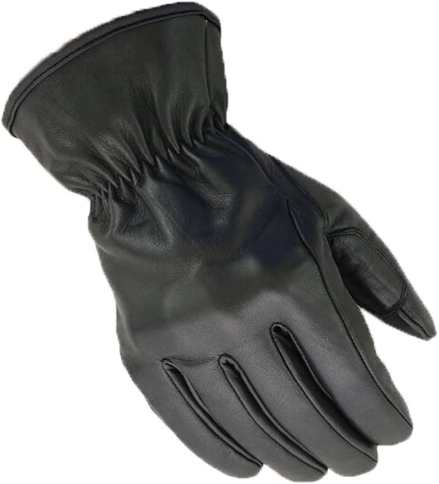 BOSmoto Motorrad Handschuhen Racing Kevlar gewachst Leder Handschuhe Wachs L, Wachs Gr/ün