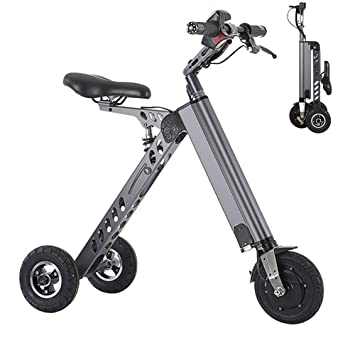 Wheel-hy Mini Patinete, Bicicleta Eléctrica, Plegable, 250W ...