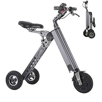 Wheel-hy Mini Patinete, Bicicleta Eléctrica, Plegable, 250W ...