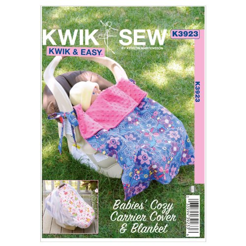 - KWIK-SEW PATTERNS K3923OSZ Babies Cozy Carrier Cover and Blanket Sewing Pattern, No Size