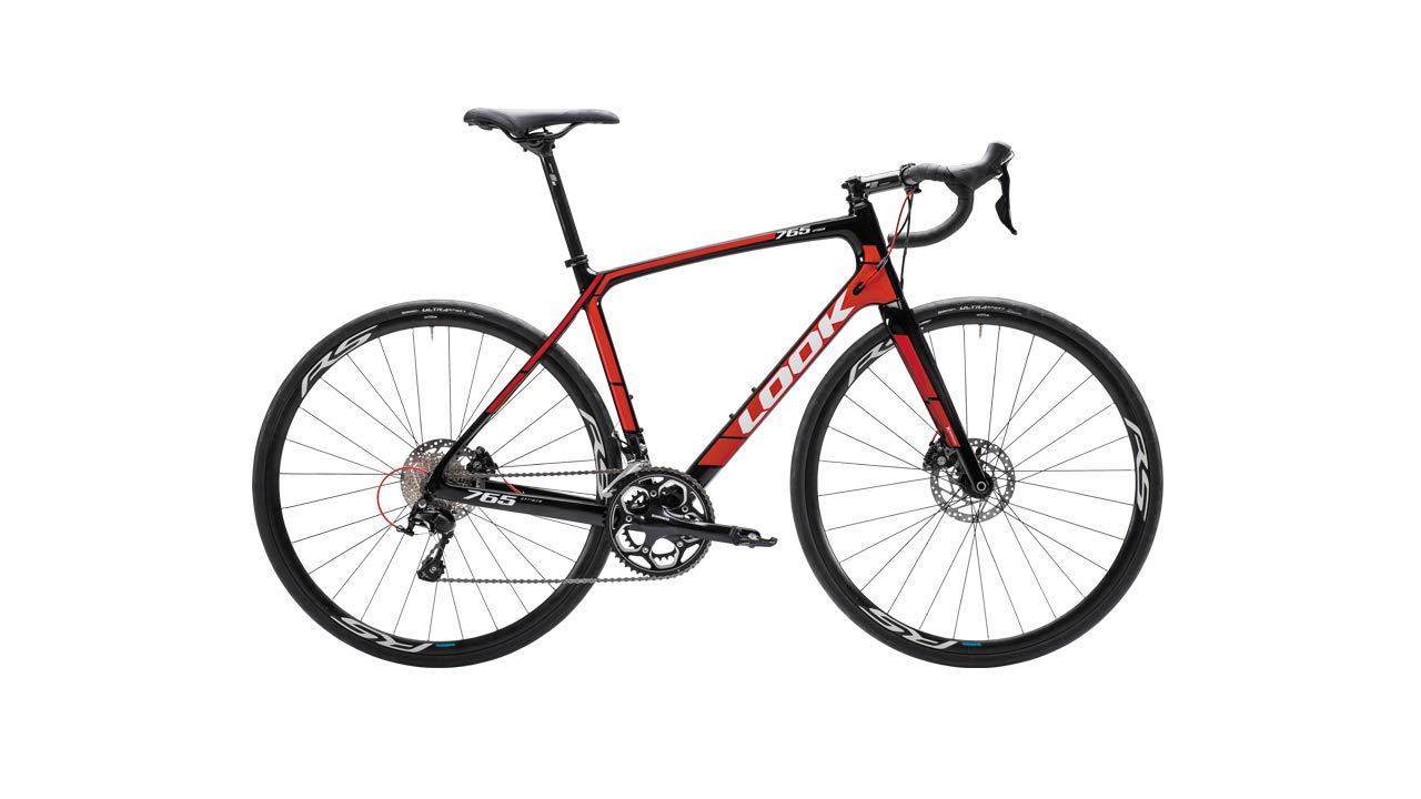 Look 765 Optimum Disc/Shimano 105 Complete Bike 2018 Black/Red M