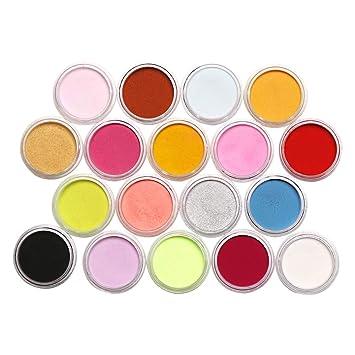 Jabones Slime U/ñas Metalizados Colorante Cosm/ético y Arte de Bricolaje Vela Pintura Cera Pigmentos en Polvo,15 Colores Natural Mica Tintes para te/ñir Resina Epoxi 24 Colores