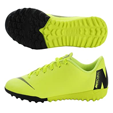 400519612 Nike Youth Soccer MercurialX Vapor XII Academy Turf Shoes (1 Little Kid M  US)