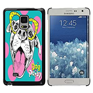 Dragon Case - FOR Samsung Galaxy Mega 5.8 - the lovely dog - Caja protectora de pl??stico duro de la cubierta Dise?¡Ào Slim Fit