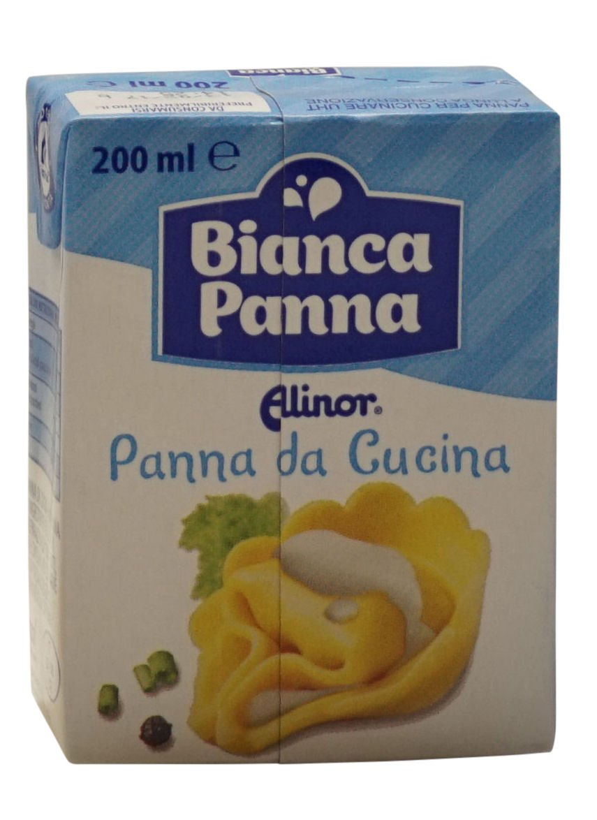 Alinor: Italian ''Panna Da Cucina'', UHT Cooking Cream * 6.7 Fluid Ounce (200ml) Packages (Pack of 4) * [ Italian Import ] by Alinor (Image #5)