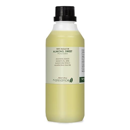 107 opinioni per Olio di Mandorle Dolci- Olio Vegetale Puro al 100%- 500ml