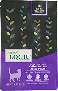 Nature'S Logic Cat Food Feline Meal Feast Rabbit