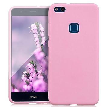 Carcasa de silicona para Huawei P10 Lite, transparente ...