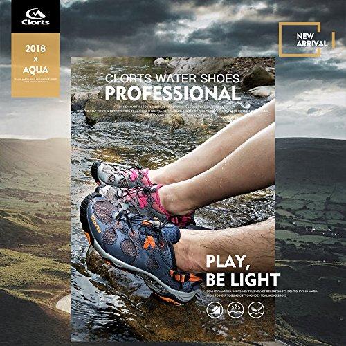 Women's 3H021C Hiking Shoe Quick Toe Clorts Sandal Pink Water Closed Drying zqx1Rd